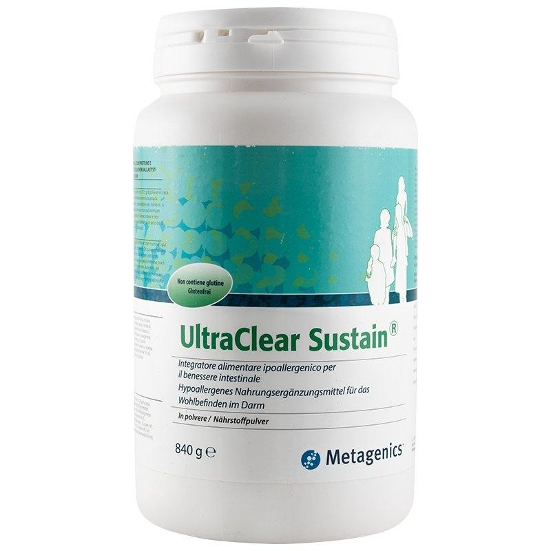 immagine della confezione di Metagenics UltraClear Sustain Gr 840