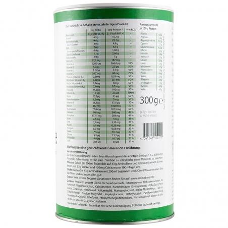 immagine della confezione di  AminoBase Gr 300 , ingredienti e modo d'uso