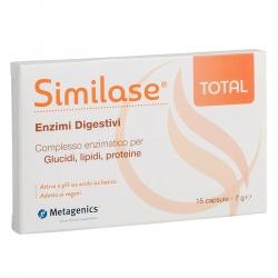 immagine della confezione integratore Similase Total,15 capsule Metagenics , vista frontale