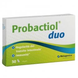 immagine della confezion  Integratore Probactiol Duo 30 capsule di Metagenics, vista frontale