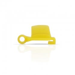 vista frontale Tappo in silicone per pulizia canale uscita scarto Estrattore di succo vivo