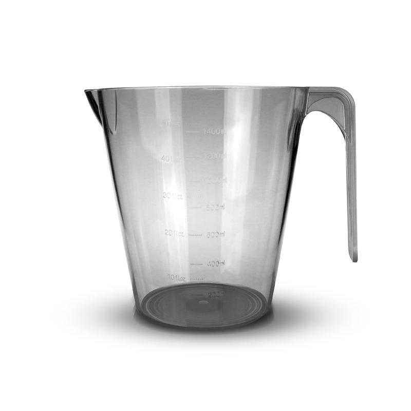 immagine della caraffa di plastica da 1.5 litri per raccolta succo e polpa estrattore di succo i vivo Essenzia e Juicepresso