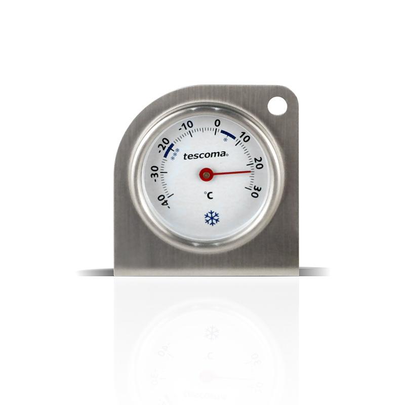 immagine frontale del  Termometro per frigorifero e freezer. tescoma