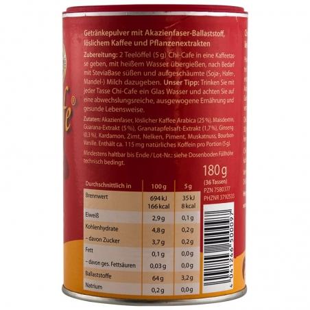 immagine della confezione di Chi-Cafè Pro-Active Gr 180, valori nutrizionali