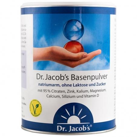 immagine della confezione di Basenpulver con Vitamina D Gr 300 di Dr. Jacob's