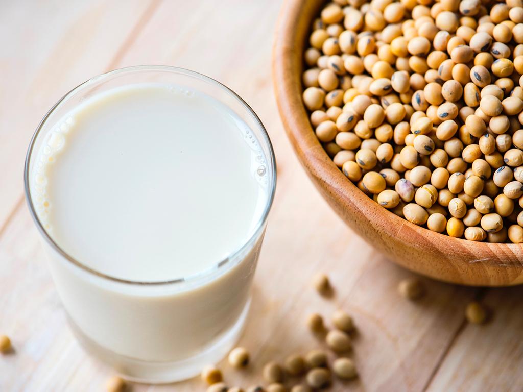 latte di soia con estrattore