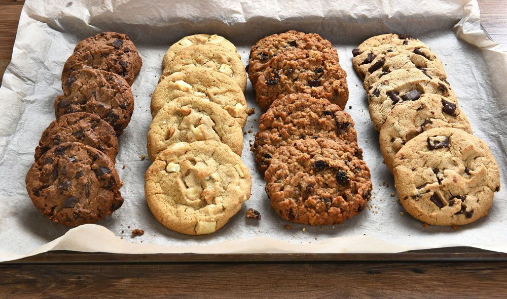 Biscotti fatti con gli scarti dell'estrattore