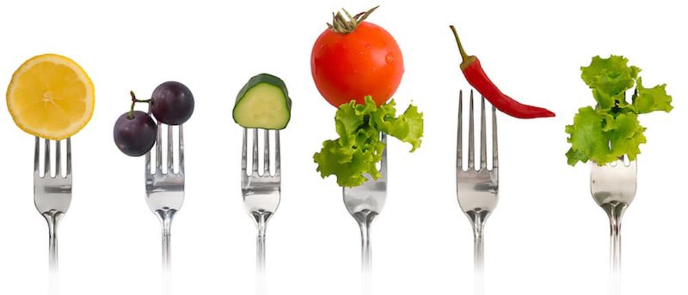 Esempio di menù per la dieta dell'acqua