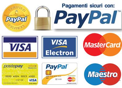 pagamenti accettati da siQuri.com