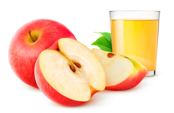 Succo mela, cannella menta