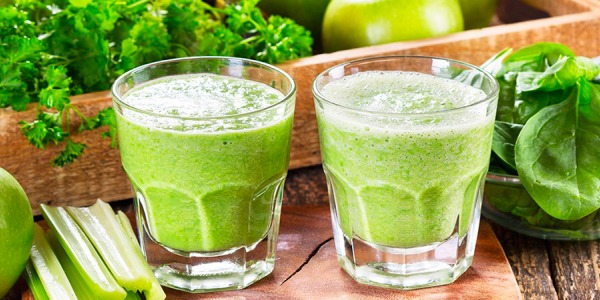 Succo verde detox: la ricetta ideale